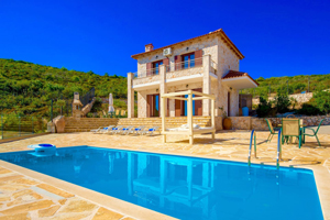 Accommodation villas in Zante North