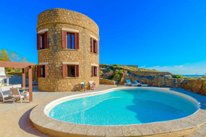 Accommodation villas in Zante South